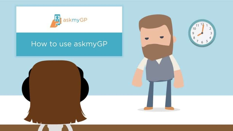 How to use ask my gp